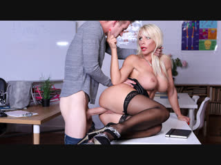 Tiffany rousso - substitute sex ed [brazers. hd1080, big tits, blonde, stockings]