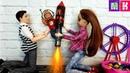 ОБИДЕЛИ МАКСА И ОН УЛЕТЕЛ! КАТЯ И МАКС ВЕСЕЛАЯ СЕМЕЙКА Мультик с куклами Барби мультики куклы