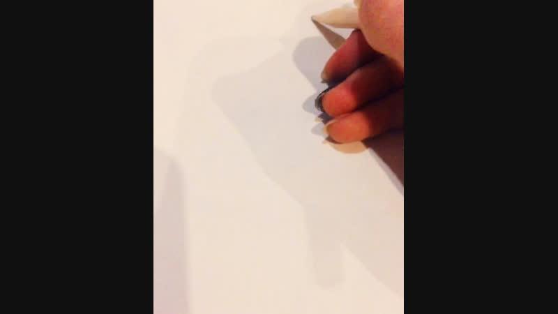 Рисуем демона
