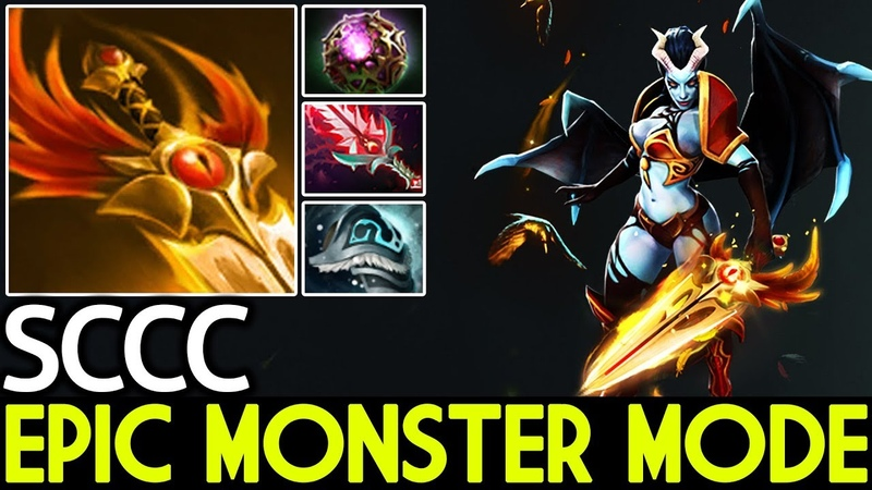 SCCC [Queen of Pain] Epic Monster Mode 7.19 Dota 2