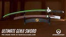 NEW PRODUCT Ultimate Genji Sword Pre Order Now Overwatch