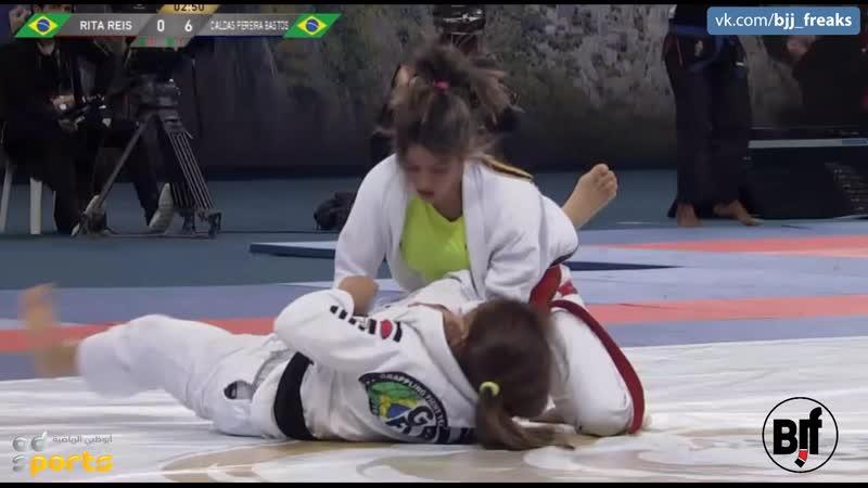 49kg Mayssa Bastos vs Rita Reis Final ADGSRIO18