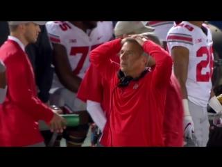 Огайо Стейт - Пенн Стейт - лучшие моменты матча - студенческий американский футбол