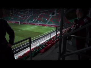 Болельщик забил гол с трибуны! / герман бьёт пяткой со 100 метров!