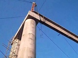 Mirpur Azad Kashmir Girder Launching 2012 By GAA Heavy Girder Launching Company
