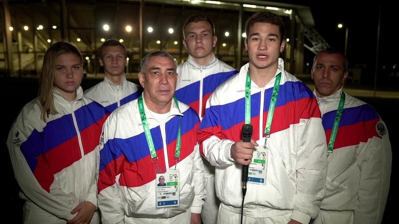 Юниорская сборная РФ по боксу посвятила победу на Олимпиаде памяти погибших в Керчи 17 10 2018