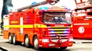 RC FIRE TRUCK ACTION I RC FIRE FIGHTERS I HORRIBLE FIRE I OIL EXIDENT I ROSENBAUER I RC-EFF