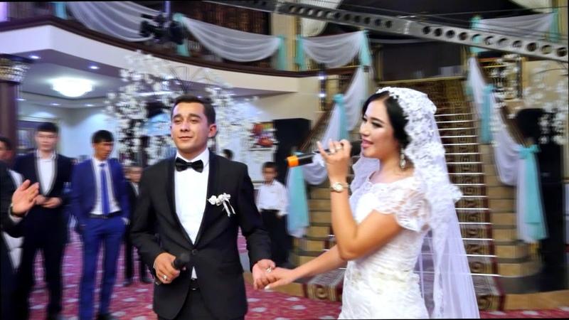 Қос ғашық тойда керемет ән салды Азиз Насима 16 10 2017 жетысай Wedding DaY