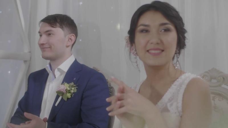 Флешмоб на свадьбу Уфа Танец друзей жениха и подружек невесты Уфа