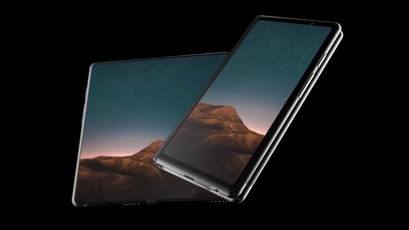 Складной смартфон Samsung Galaxy F может быть таким