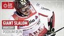 Marcel Hirscher Silver Medal Men's Giant Slalom Are FIS World Alpine Ski Championships