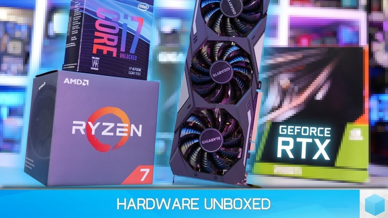 GeForce RTX 2080 Ti, Ryzen 7 2700X vs. Core i7-8700K Gaming Benchmark