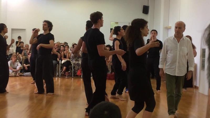 O Θεόδωρος Τερζόπουλος με την Evelyn Adsouad