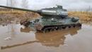 ЕДЕТ ТАМ, ГДЕ ТАЧКИ ВЯЗНУТ ТАНКА Т-34-85 в гряземесе