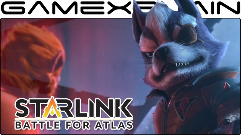 Wolf's Introduction Cutscene in Starlink Star Fox (Switch)
