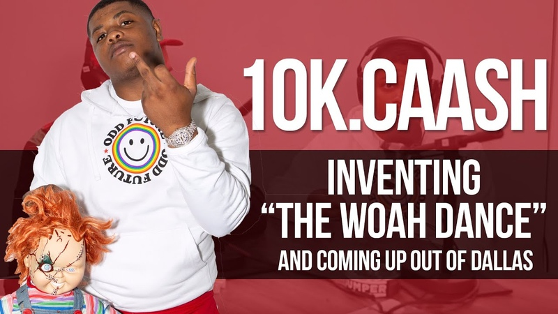 On inventing The Woah dance and coming up out of Dallas