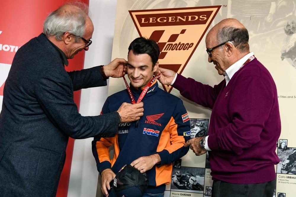 Дани Педроса получил статус MotoGP Legend
