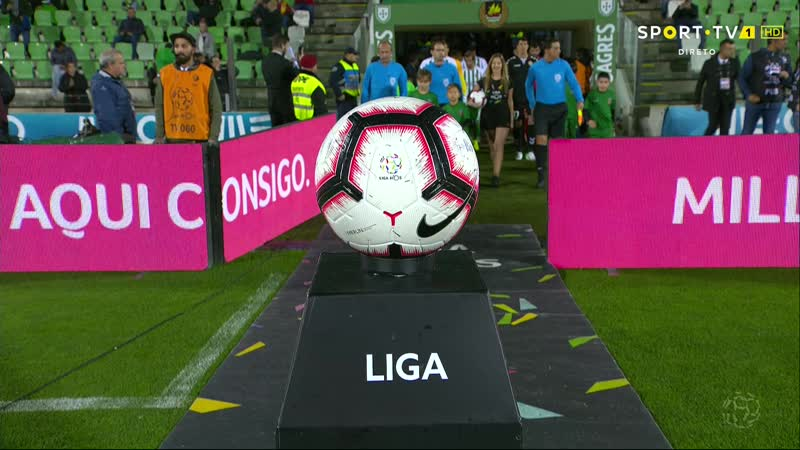 Чемпионат Португалии 2018-19 / 9 тур / Риу Аве – Насьонал / 1 тайм [720, HD]