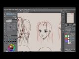 Neil Fontaine - 001 We learn different styles of manga hair