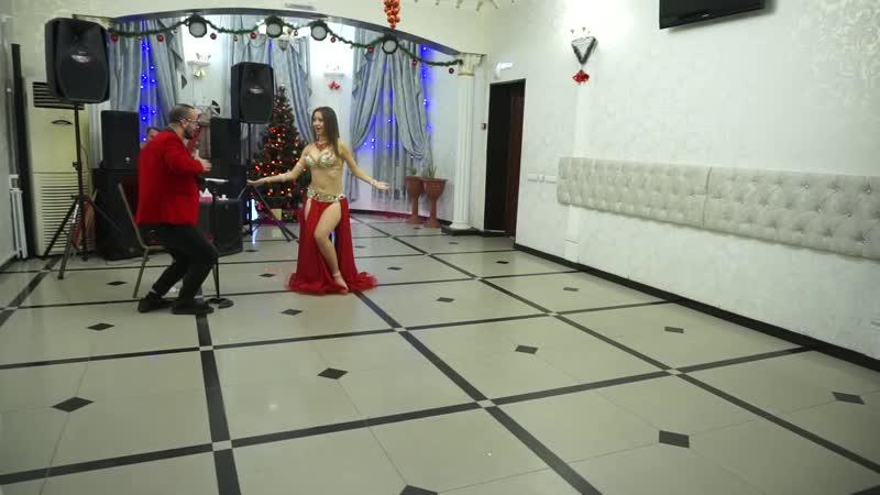 Захарова Дврья. Импровизация tabla solo. Volga Drum Party 2018