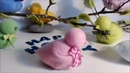 Einen kleinen 3D Vogel aus Fleecedecke nähen und kleben, DIY - Nr.110