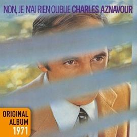 Charles Aznavour альбом Non, je n'ai rien oublié