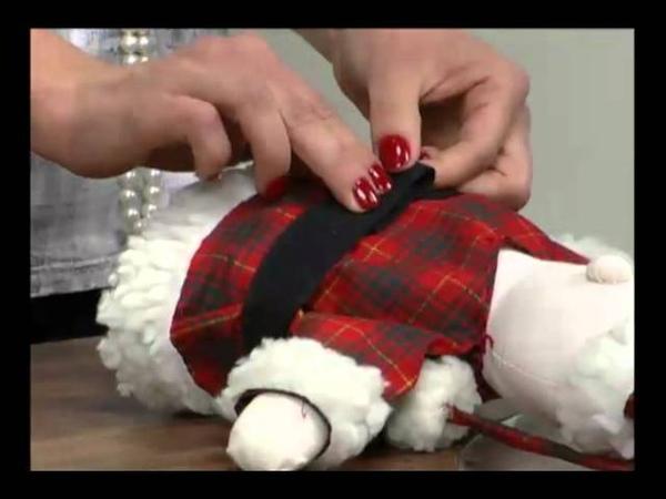 Mulher.com 17/11/2011 - Enfeite de mesa de Papai Noel 2/2
