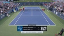Benoit Paire - 3 rackets in 3 minutes (and a point penalty) at Citi Open 2018 in Washington