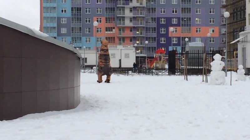 Динозавр-онанист ЖК ЗимаЛето