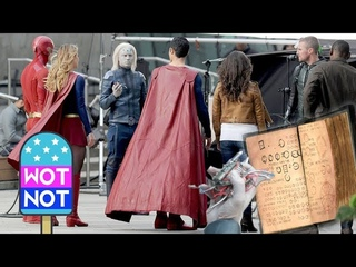 Elseworlds Exclusive - Supergirl, The Flash, Arrow: Brainiac Crossover