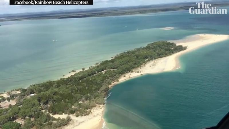 В Австралии ушла под воду часть популярного среди туристов пляжа