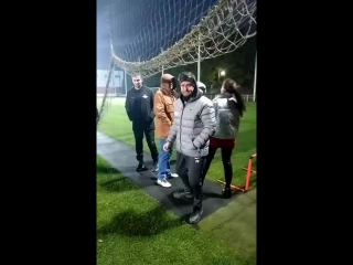 Открытая тренировка перед матчем с Уралом
