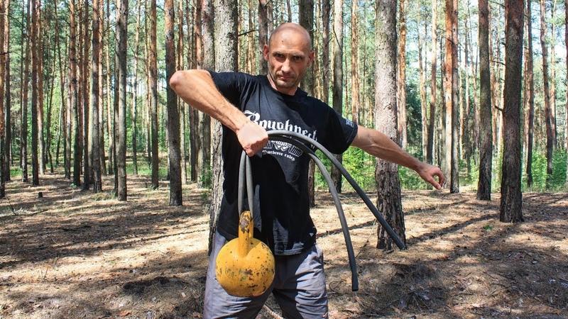 Необычная тренировка с гирей Stas Solomka