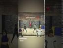 Команда Нюши репетирует танец на песню Таю (InstaStories, 13.02.19)
