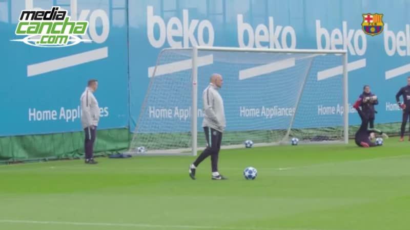 Ante PSV Barcelona descarta por lesión a Suárez Cillessen y Arthur
