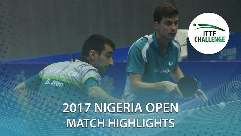 2017 Nigeria Open Highlights: Antoine Hachard/Jean G. vs Rares Sipos/Alexandru C. (Final)