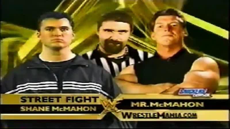 WWE Mania WrestleMania X Seven Shane McMahon vs Vince McMahon