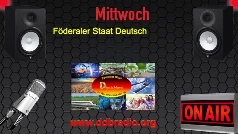 DdbRadio - erste zugelassene freie und unzensierte Presseagentur/Radio im Föderalen Bundesstaat Deutschland