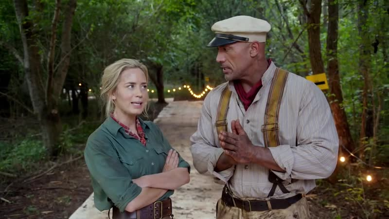 Emily Blunt and Dwayne Johnson: Jungle Cruise