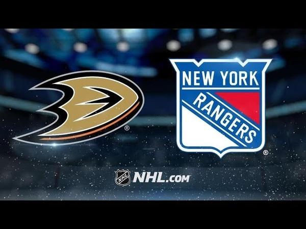 Anaheim Ducks vs New York Rangers | Dec.18, 2018 | Game Highlights | NHL 2018/19 | Обзор матча