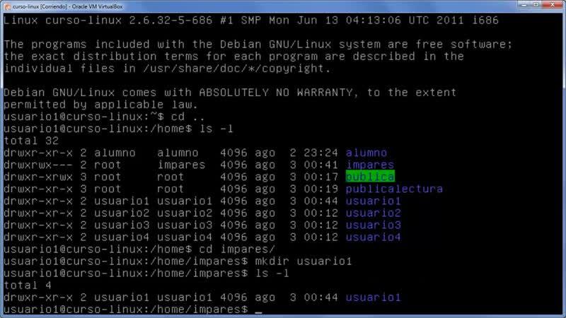 A Linux sin ventanas Lección 28