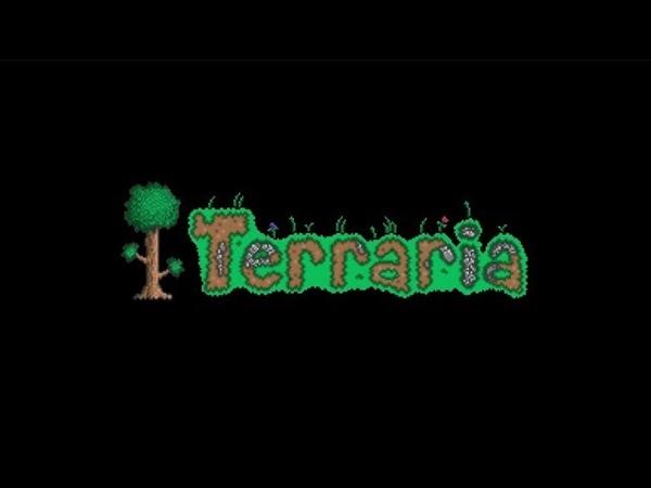 Террария прохождение игры Terraria серия 9 Босс Король слизней Большая часть видео без голоса