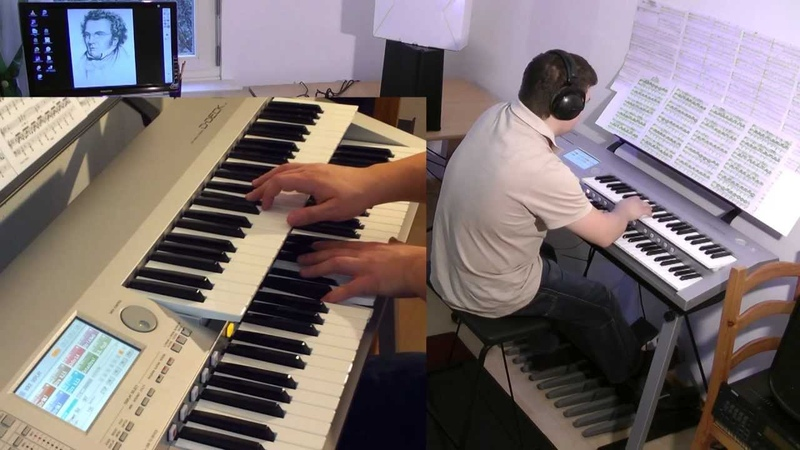 Ave Maria - performed by Marco Cerbella - F. Schubert (D-Deck, Electone)