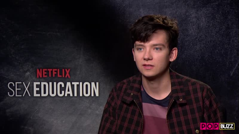 Asa Butterfield reveals why they don't wear uniforms in 'Sex Education'