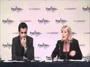 Marine Le Pen Un journaliste larbin joue le kéké et se fait ramasser en beauté