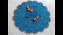Вяжем крючком платье на девочку 6-7 лет часть 3.12-25 ряды knit dress for girl