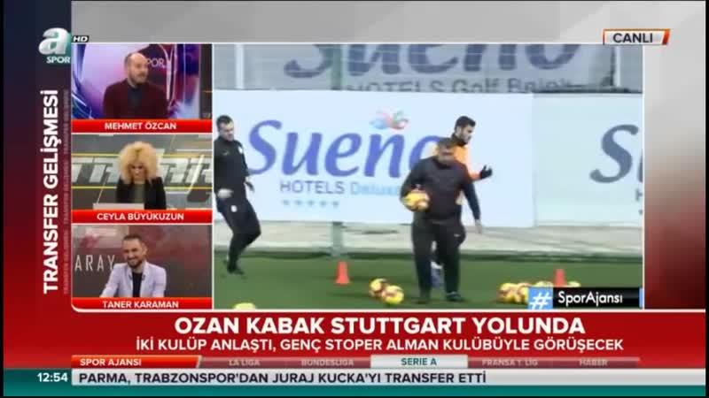 Galatasaray Ozan Kabakı Stuttgarta Gönderiyor İki Takım Anlaştı