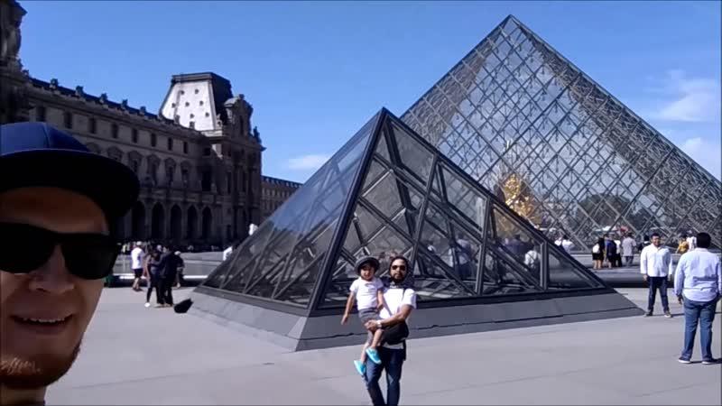 Данис и Женя Париж 2018