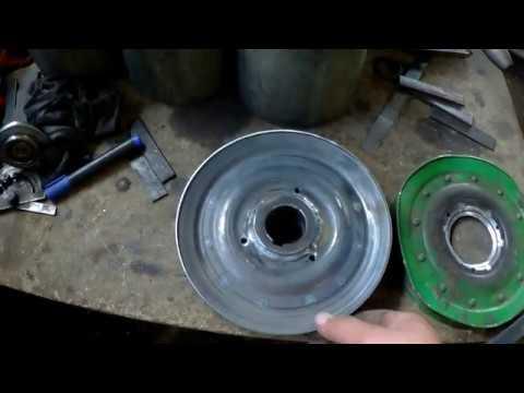 Как сделать шкив из листового металла 2