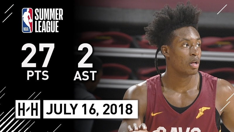 Collin Sexton Full Highlights vs Lakers (2018.07.16) NBA Summer League - 27 Pts, 3 Reb, 2 Ast